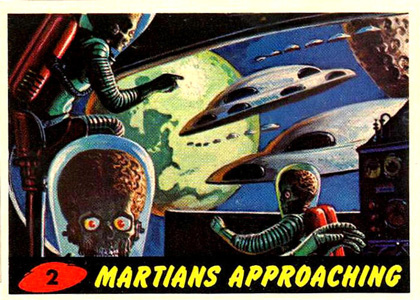Mars Attacks! Card nr 2