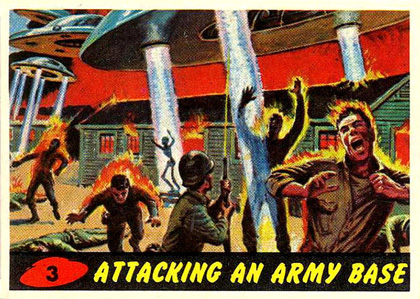 Mars Attacks! Card nr 3