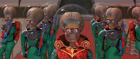 </code>Mars Attacks! Alien with a lot of humor.