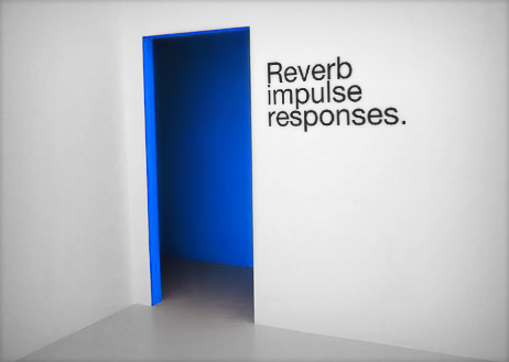 Reverb impulse responses