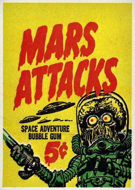 Mars Attacks Trading Cards