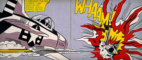 Roy Lichtenstein Planes