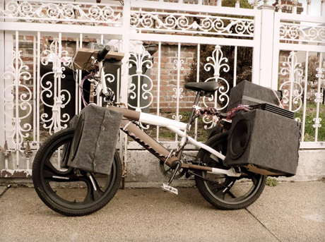 Made in Queens - stereo bike.